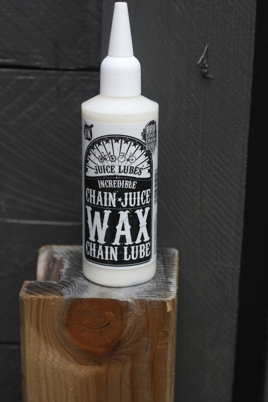 Buit van de week Juice Lubes Chain Wax Wielrenblad
